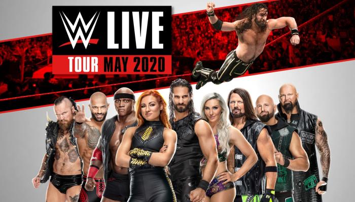 WWE LIVE - Tour 2020