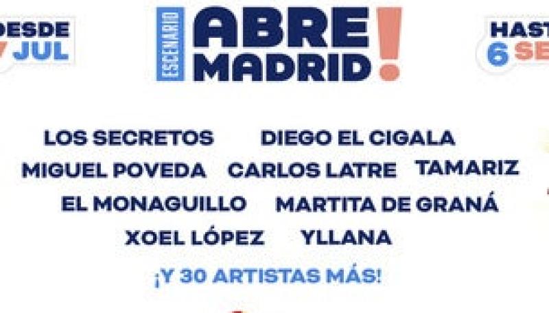 Abre Madrid, un nuevo espacio escénico arranca el próximo 7 de julio en IFEMA
